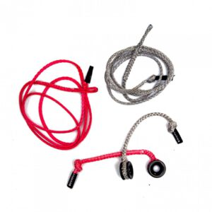 Low friction ring with pigtail & line (pair)